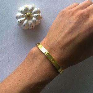 Gold Statement Bracelet